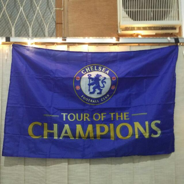 Bendera Chelsea Summer Tour 2017