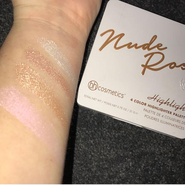 BH Cosmetics Nude Rose Highlighter