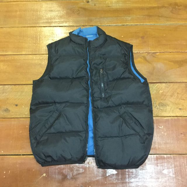 Black And Blue Flippable Vest
