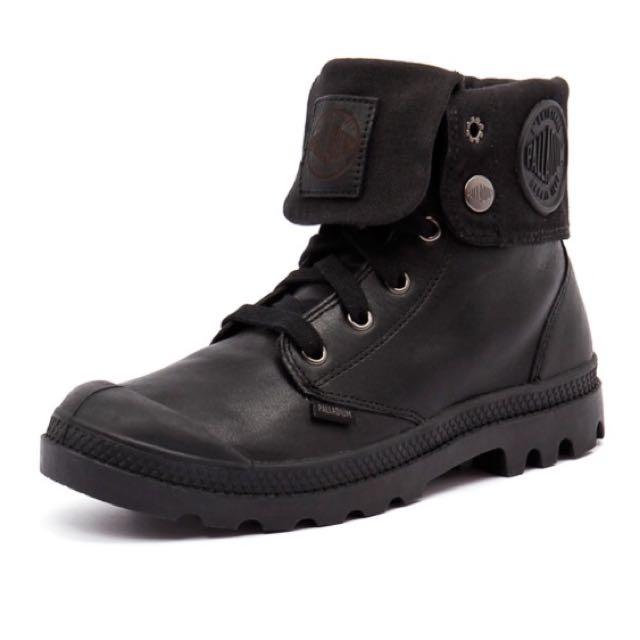 Black Palladium Boots