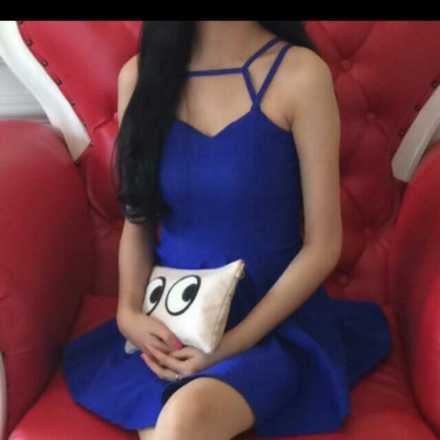 SALE Blue Minidress Bkk