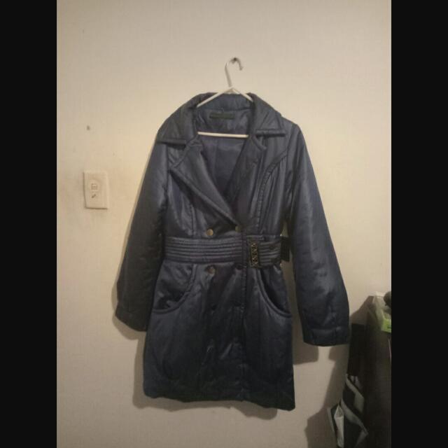 Blue Puffer Jacket