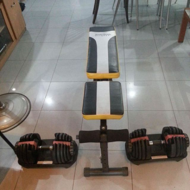 Bowflex With Bench (Repriced)