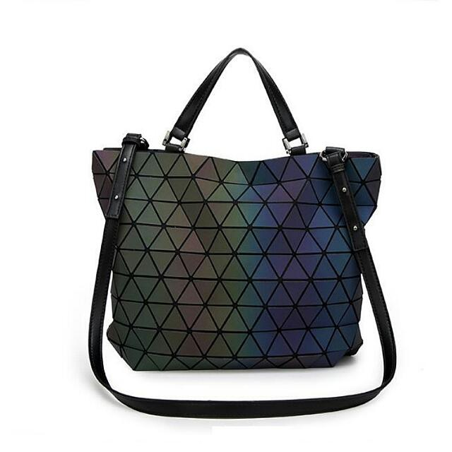 41c3d731333c BRAND NEW Black Luminous Issey Miyake BAOBAO Inspired 2-way Bucket Bag   Sling  Bag   Shoulder Bag   Tote Bag   Diaper Bag
