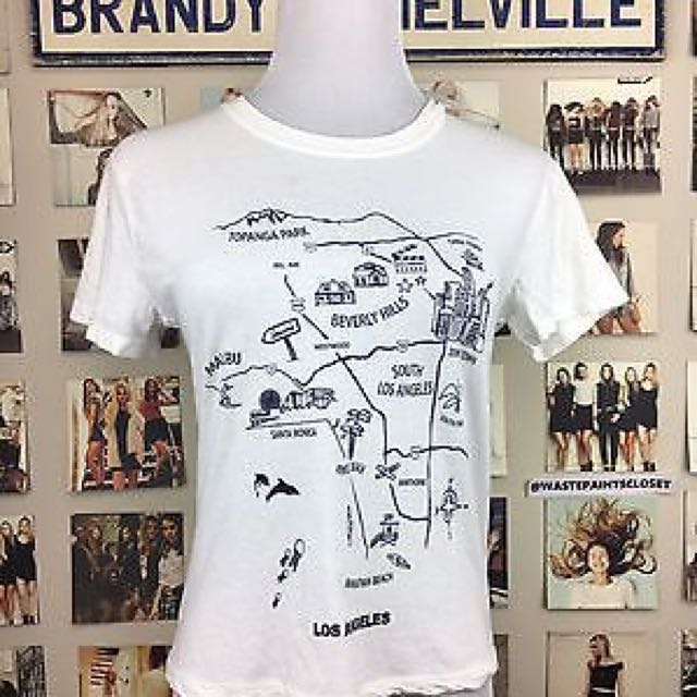Brandy Melville Los Angeles Top