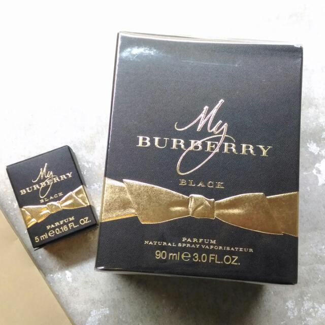 全新正品✩My Burberry Black 香水90ml