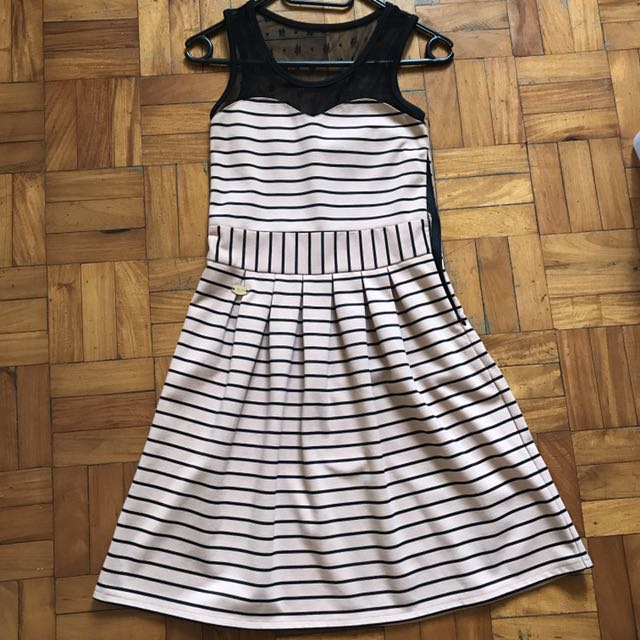Candie's Striped Dress