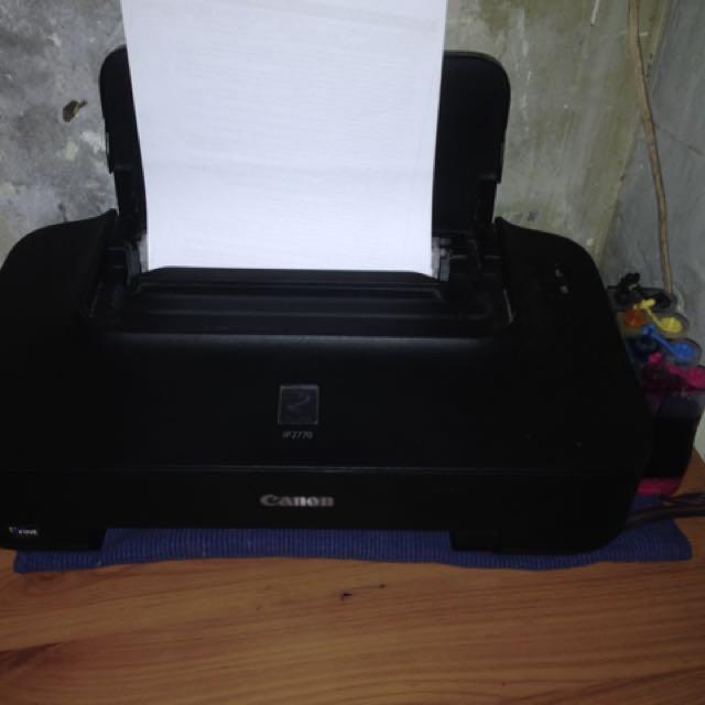 Canon iP2770 Series Printer