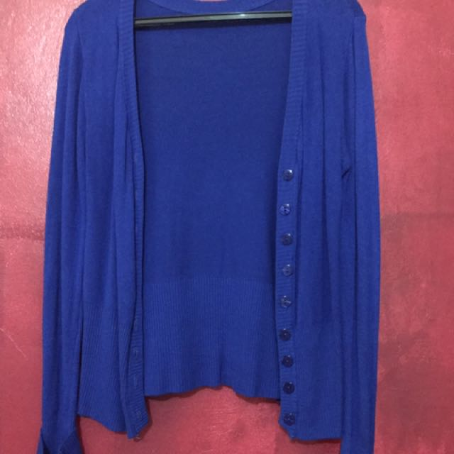 Cardigan Royal Blue