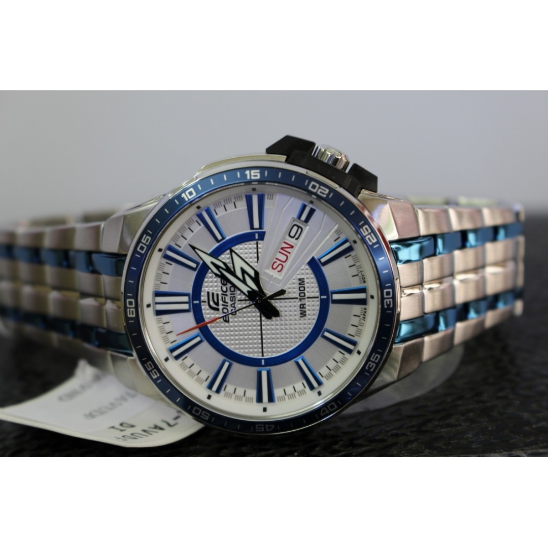Casio Edifice EFR-106BB-7A Watch, Men s Fashion, Watches on Carousell d9c80d12407b