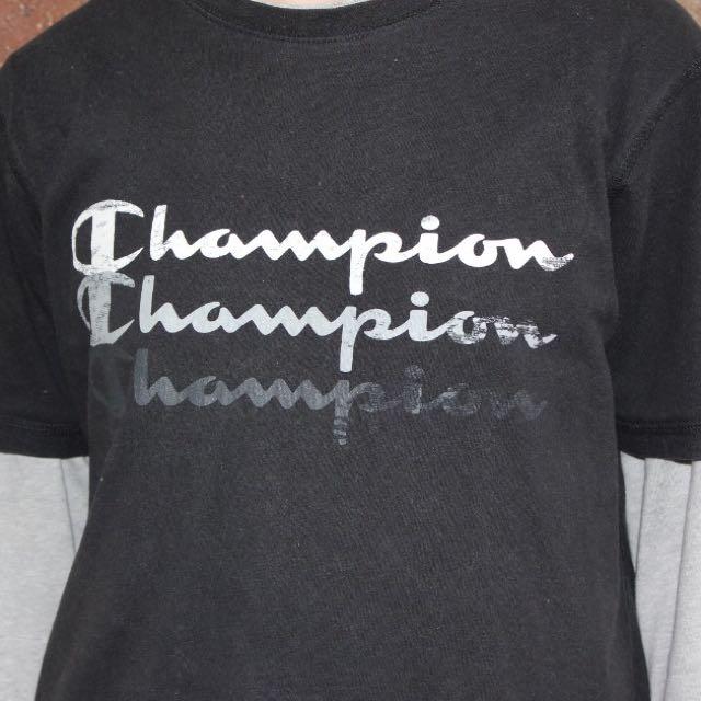 Champion T-Shirt - Size Medium