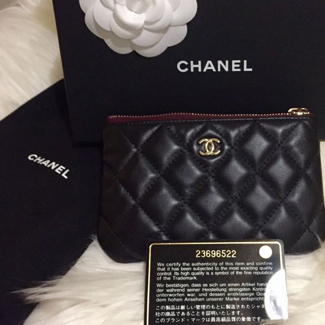 Chanel small O Pouch