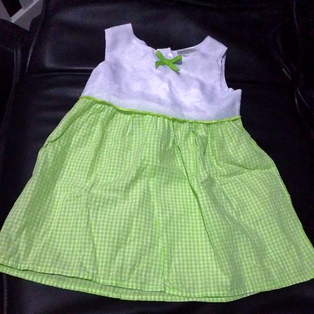 Checkered Baby Dress