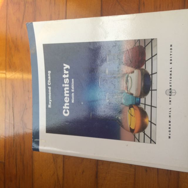 Chemistry 9th Edition Raymond Chang
