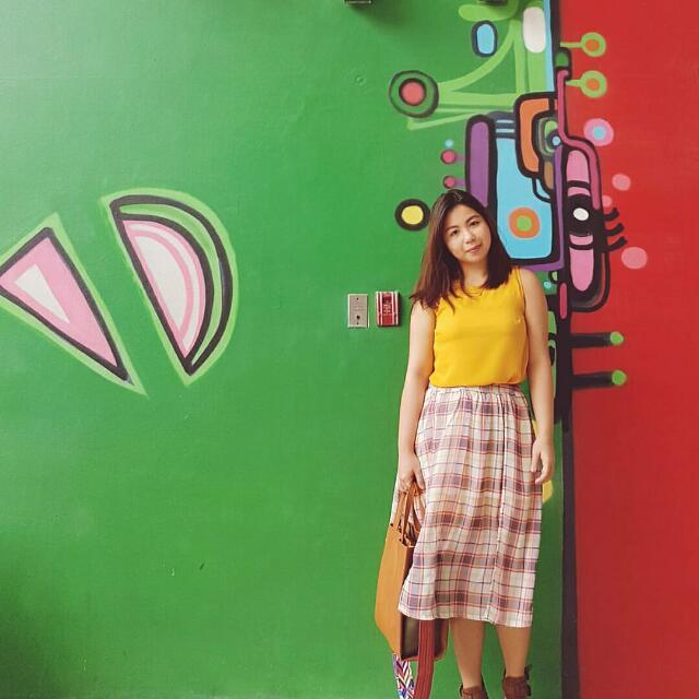 Paper & Scissors Skirt