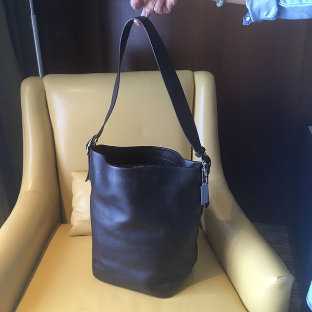 Coach Big Leather Bag