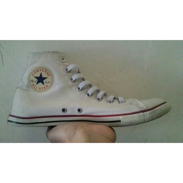 Converse CT Optical White Slim Hi Nego