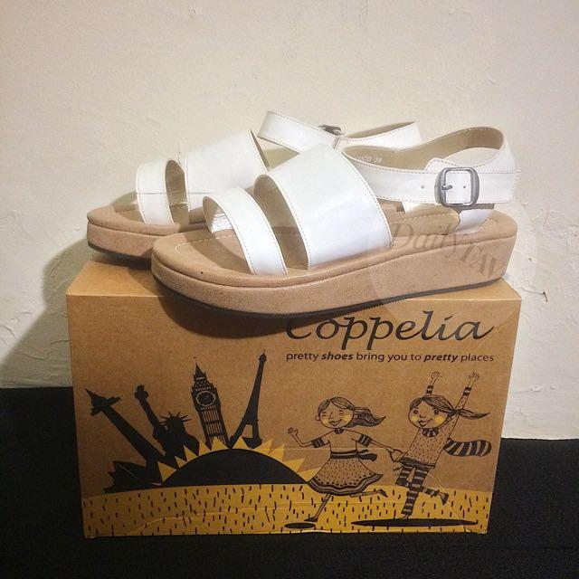 (Coppelia Shoes) Coco Open Toe Platforms SIZE 39