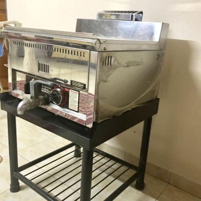 Deep Fryer Dapur Ayam Gunting Kitchen Liances On Carou