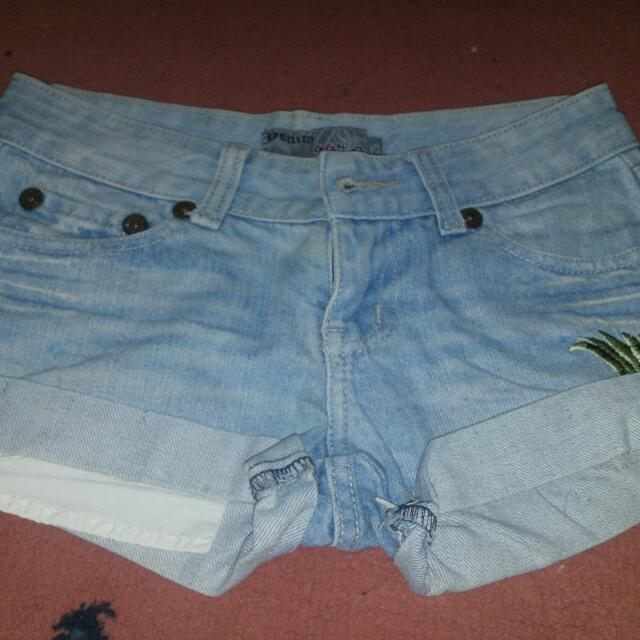 Denim Short Size 25/26