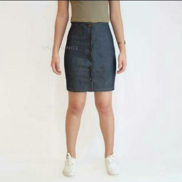Denim Skirt #SALE