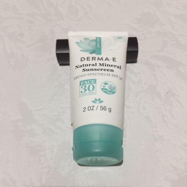 DermaE Natural Mineral Sunscreen SPF 50