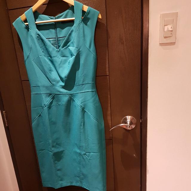 Dorothy Perkins Blue Green Dress (For Office)