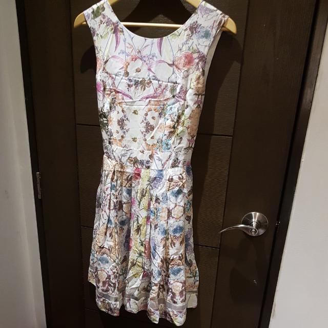 Dorothy Perkins Sleeveless Floral Dress (For Weekends)