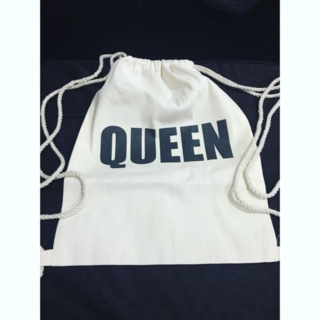 "Drawstring ""Queen"" Bag"
