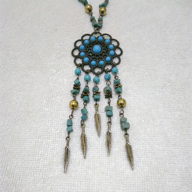 Dreamcatcher-Mandala Necklace