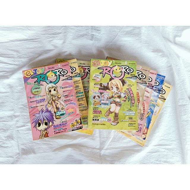 ejoy ROxRO雜誌 2~43期(缺第24期) #十一月免購物直接送