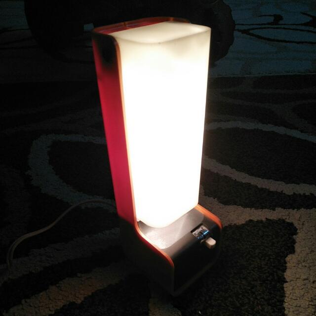 Vintage 70's ELL Hi-Intensity Table Lamp Nanbu LTD