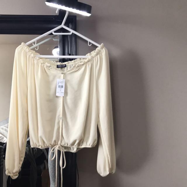 Fashionnova Off The Shoulder Blouse