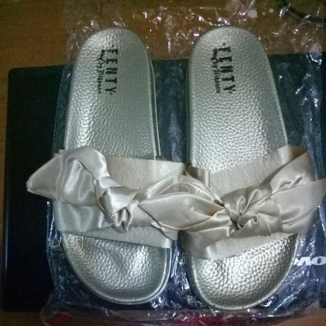 Fenty Ribbon Sandals