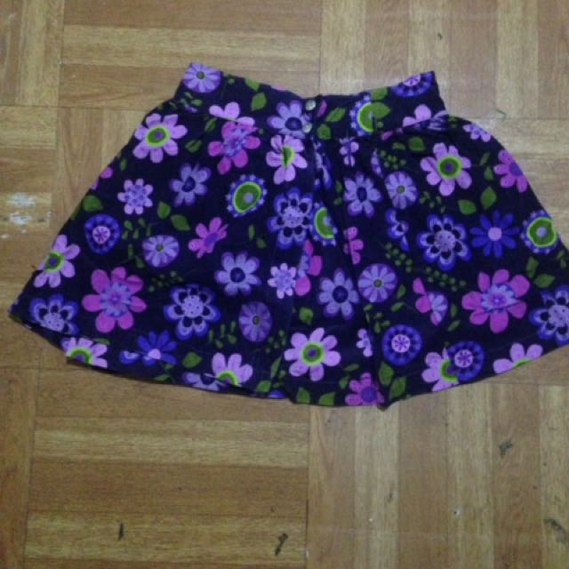Floral Skirt For Kids