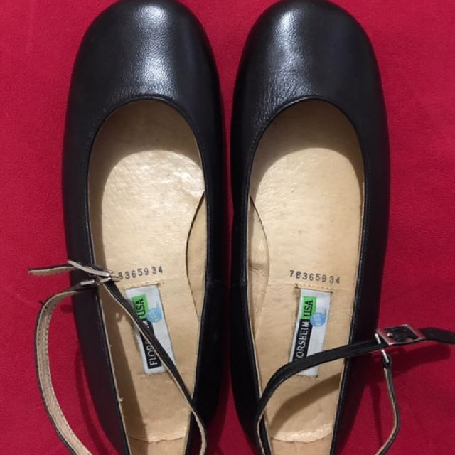 Florsheim Black Leather Shoes