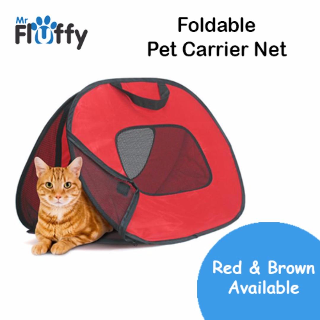 77e5c1ef27 Foldable Pet Carrier Net / Dog / Cat / Puppy / Kitten, Pet Supplies ...