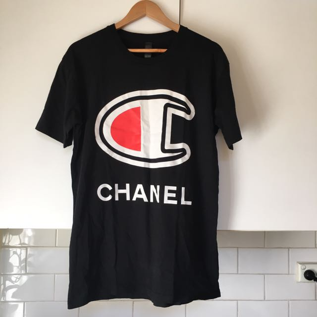 For The Homies Chanel Men's T Shirt Size Large