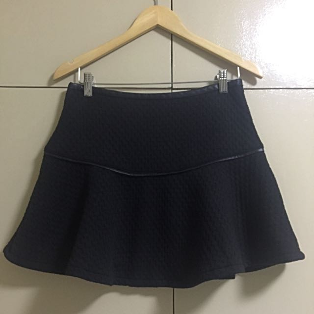 FOREVER21 Exclusive Fluted Skirt