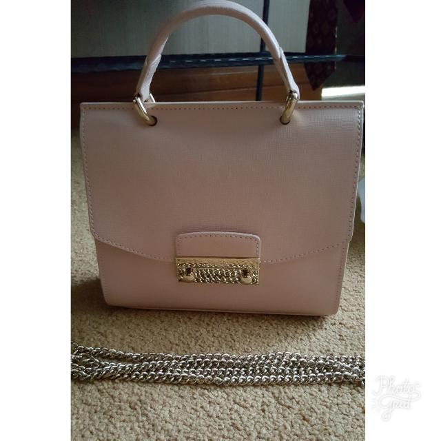 Furla Julia MINI top Handle Baby Pink