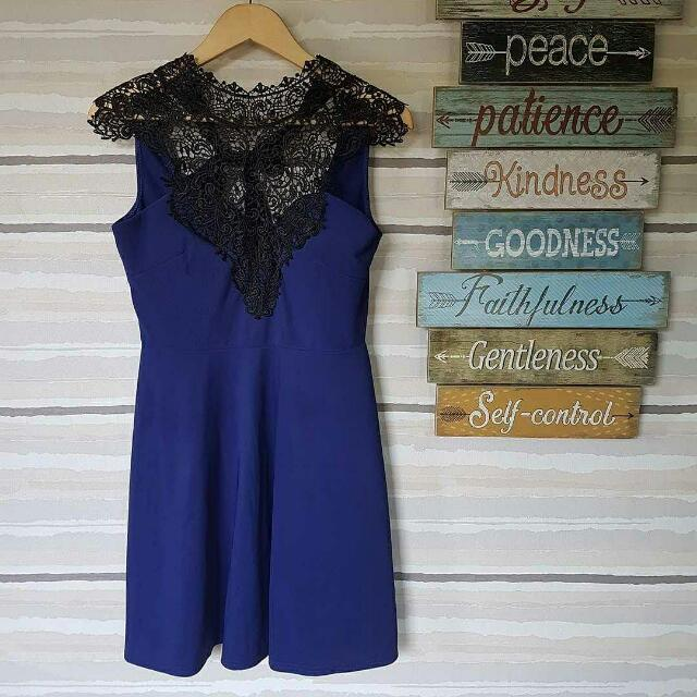 Get Laud Lace Top Dress