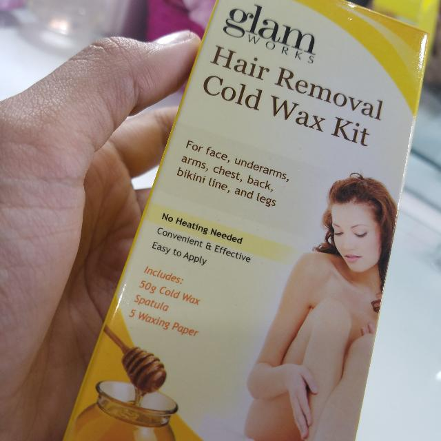 Glam Works Hair Removal Cold Wax Kit Health Beauty Skin Bath
