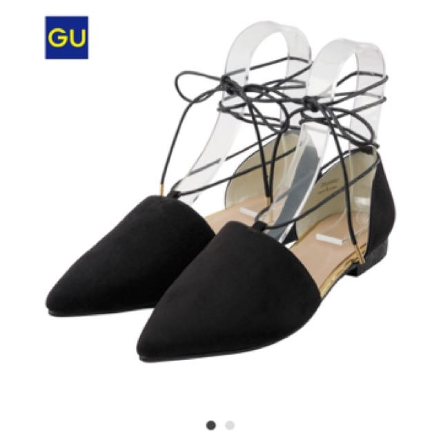Gu  綁帶平底鞋