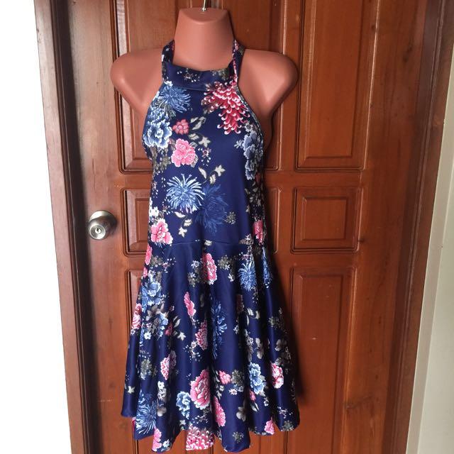 Halter Dress A Line