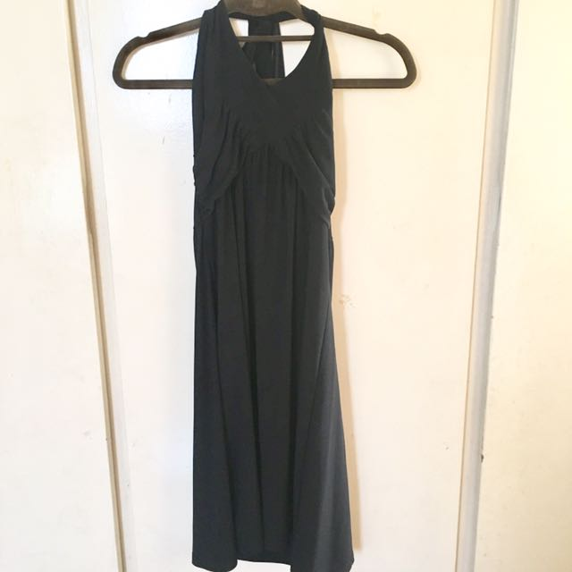 Halter Little Black Dress
