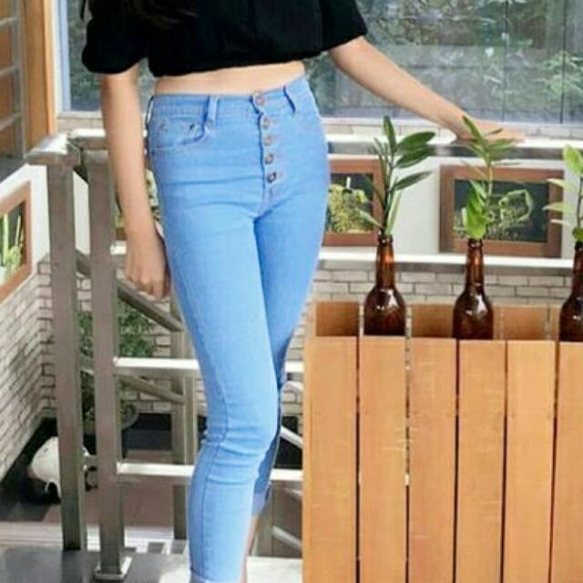 SALE Highwaist Jeans Bkk