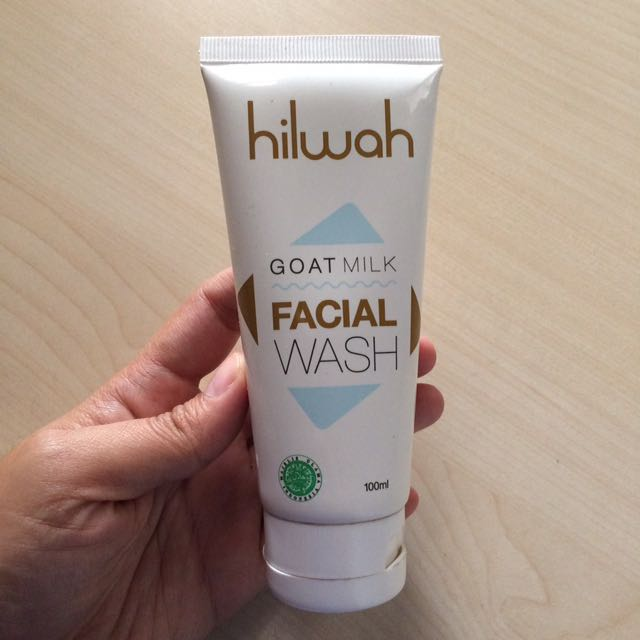 Hilwah Goatmilk Facial Wash Original & New 100ml