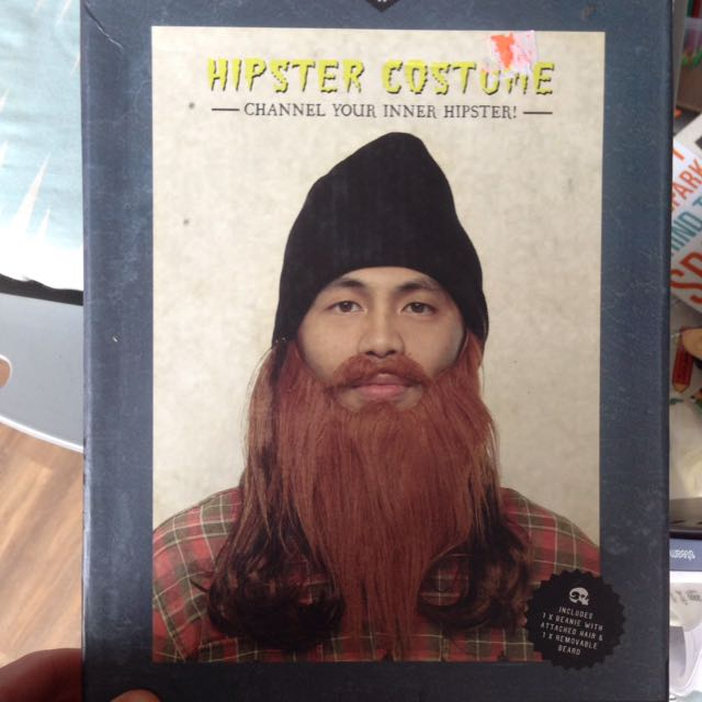Hipster Costume Brand New