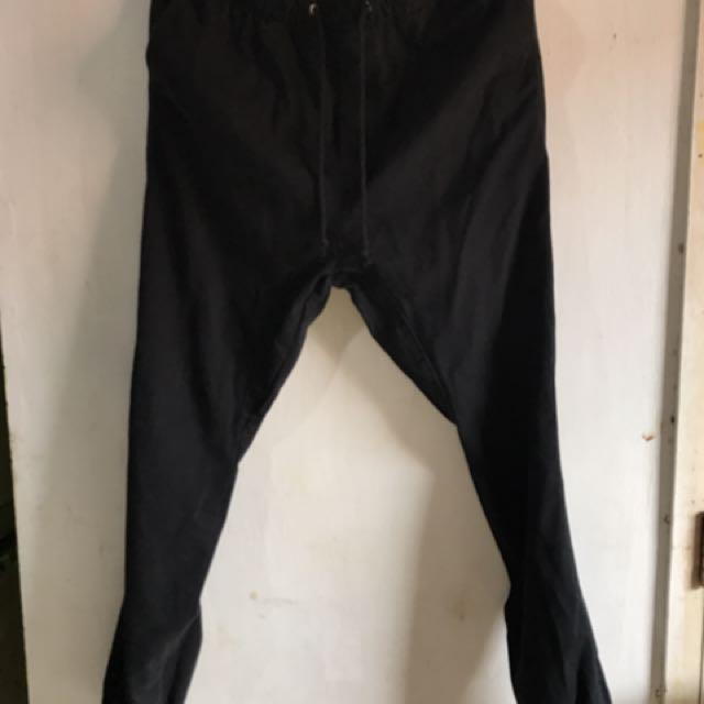 H&M Black Jogger Pants