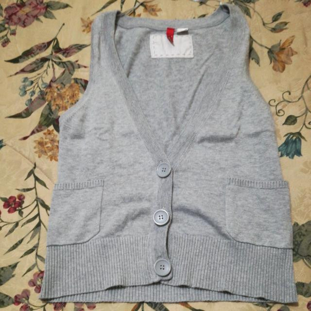 H&m Divided Grey Knit vest